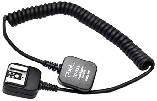 Pixel FC-311/LE-TTL Langer Blitzschuh-Adapter für Canon (Verlängerungskabel)
