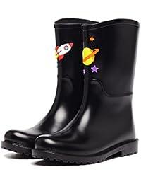 NAN Primavera y verano Fashion Collage Botas de lluvia Zapatos de goma a prueba de agua Zapatos de agua de marea...