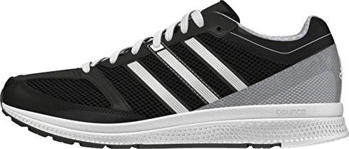 adidas Unisex-Erwachsene Mana RC Bounce W Laufschuhe Schwarz / Grau / Weiß (Negbas / PLAMET / Ftwbla)