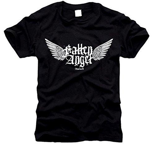 Fallen Angel - gefallener Engel - T-Shirt - Gr. S -