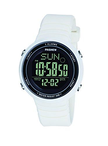 Pasnew-445G frauen mädchen uhren sports digitale uhren mit alarm wasserdicht multifunktionale mode armbanduhren für frauen und mädchen