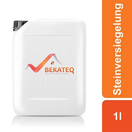 Bekateq BE-840 Steinversiegelung, 1l, farblos, seidenglänzend, imprägniert und schützt Naturstein und Kunststeine vor Umwelteinflüssen
