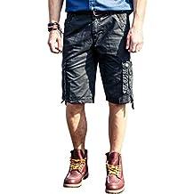 57879395ab60 INFLATION Casual Herren Cargo Shorts Cargohose Kurze Hose Sommer Shorts 6  Farben