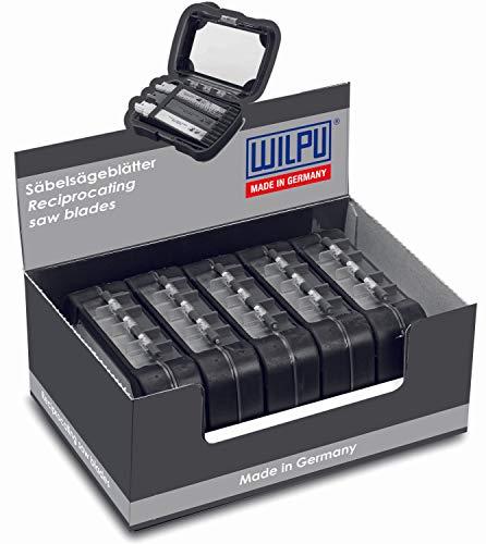 WILPU Thekendisplay mit 5 x 30-teil. 2-K Box, Recipro Metal 3013/150,3014/150,3016/150 Thekendisplay mit 5 x 30-teil. 2-K Box VE 5 Stück 14999 00000 -
