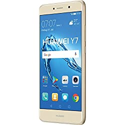 "Huawei Y7 SIM doble 4G 16GB Oro - Smartphone (14 cm (5.5""), 16 GB, 12 MP, Android, 7.0, Oro)"