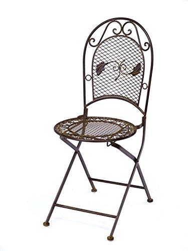 Gartentisch + 2x Stuhl Eisen antique style Gartenmöbel
