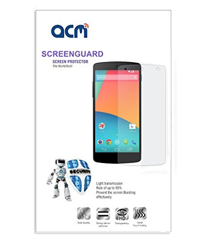 Acm Clear Screen Guard For Spice Horizon Pro Mi-505 Mobile Scratch Proof Screenguard  available at amazon for Rs.269