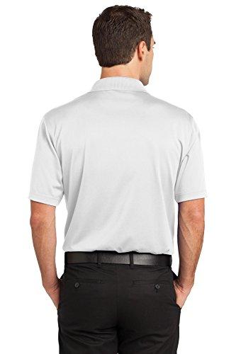 Cornerstone Herren Haken Beweis, Polo Performance der Weiß