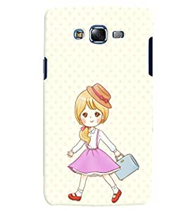 Citydreamz Little Girl/Cute/Girly/Abstract Hard Polycarbonate Designer Back Case Cover For Samsung Galaxy Grand 2 G7102