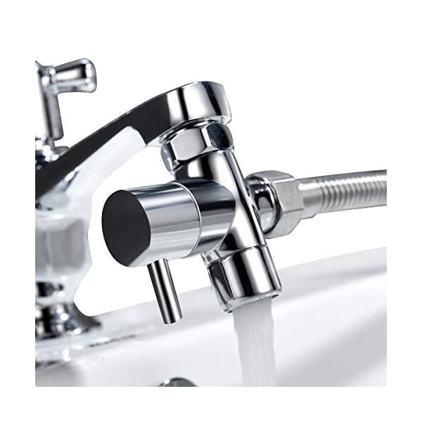 Tecmolog-G12-Deviatore-ottone-per-il-rubinetto-della-cucinabagno-lavandino-o-lavandino-rubinetto-del-bagno-del-rubinetto-parte-di-ricambioM22xM24-ChromeSBA021C