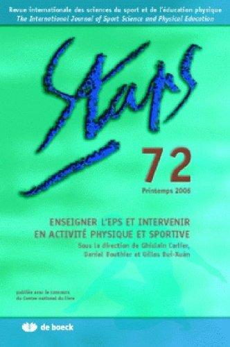 Enseigner l'EPS et intervenir en activité physique et sportive