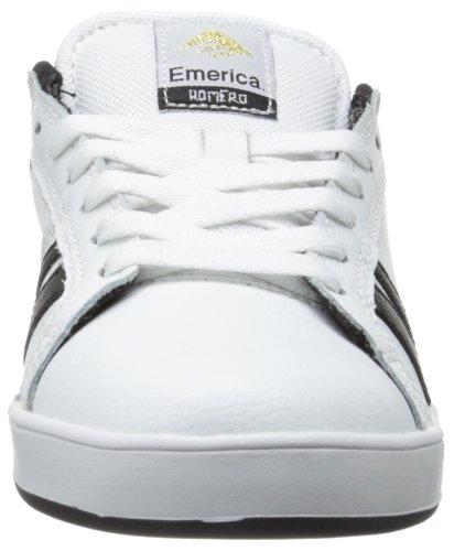 Emerica Emerica Mns The Leo 2, Baskets mode homme Blanc (White Black)