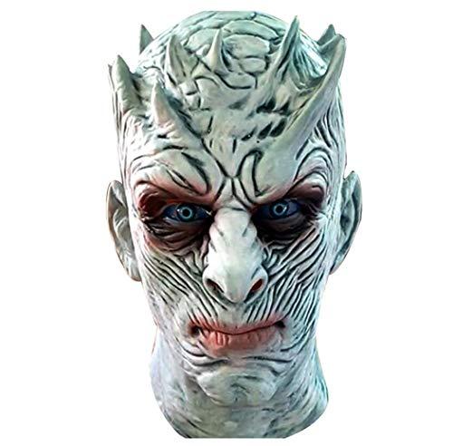 Dollar König Kostüm - HBWJSH Halloween Horror Maske Latex Grimasse rechts Spiel Nacht König Maske Kopfbedeckungen