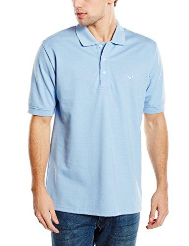 Trigema Herren Poloshirt 621601 Blau (horizont 042)