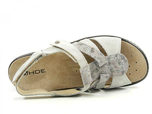 Rohde 5766 Hamm sandales femme Grau