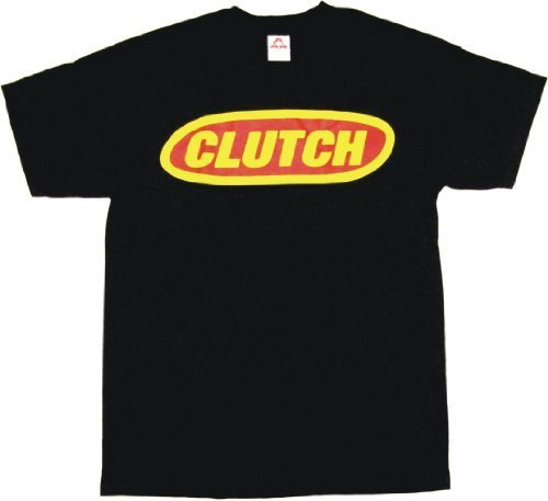 99 Volts Clutch Oval Logo Men's Tee Shirt Black Size XL (Ovale Logo-t-shirt)