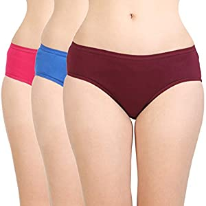 BODYCARE Women's Cotton Classy Panty-Pack of 3