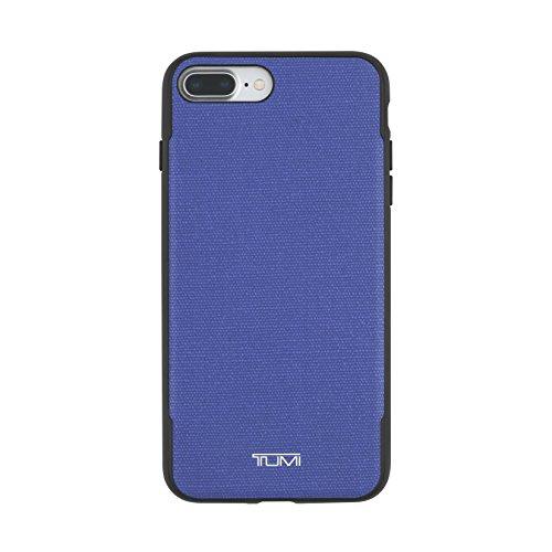 TUMI Co-Mold Schutzhülle für iPhone 7 Plus, beschichtetes Leinen, Blau -