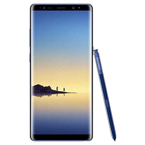 Samsung Galaxy Note Dual SIM - Samsung Galaxy Note 8 Dual SIM - 128GB, 6GB RAM, 4G LTE, Deep Sea Blue
