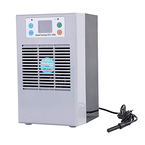 100-240V Digital Aquarium Thermostat Fish Tank Chiller Heater Water Cooling Heating Machine (35L 100W) (Groß Tank Heater)
