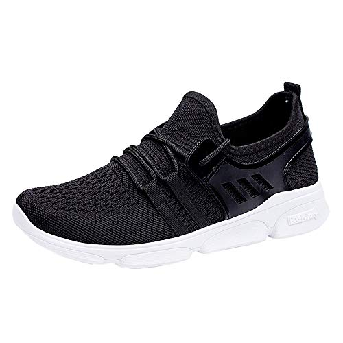 Oyedens Scarpe Running Sneakers Uomo Donna Sport Scarpe da Ginnastica Fitness Respirabile Mesh Corsa Leggero Casual all'Aperto