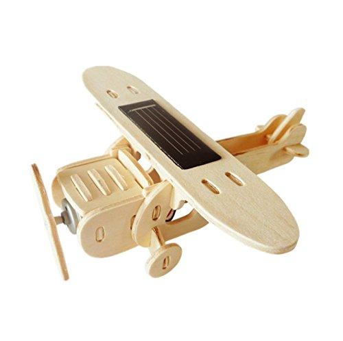 Cebekit - Puzzle 3D de avión solar monoplano: Aircraft P210, de madera (Fadisel C-9758)