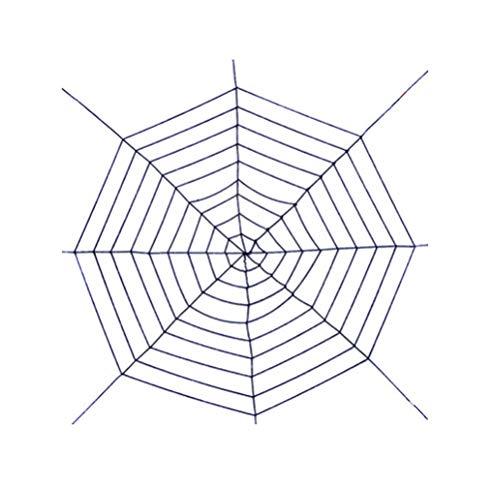 3Ciker Halloween Riesenspinnennetz Gruseliges Dekor Halloween-Dekorationen Super Stretch Cobweb Set Spukhaus Dekor