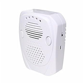 CLOCK Ravageurs Répulsif 5W Souris Électriques Souris À Ultrasons Rejeter Le Rat Insectifuge-Blanc UE/UK Plug
