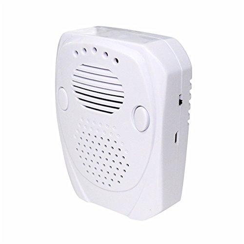 Clock Parassiti Repeller 5W Elettrico Mouse Topo Parassita Ultrasuoni Respingere Ratto Repellente-Bianco EU/UK Spina