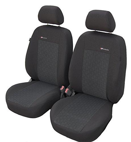 Vordersitzbezüge EXCLUSIVE AKL Universal Autositzbezüge Sitzbezüge Schonbezüge Grau