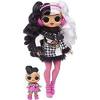 L.O.L. Surprise! O.M.G. Winter Disco, Dollie, Fashion Doll & Sister, 25 Sorprese