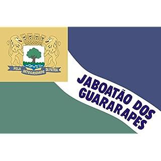 DIPLOMAT Flagge JaboataodosGuararapes Pernambuco Brasil | Município de Jaboatão dos Guararapes no Estado de Pernambuco | Querformat Fahne | 0.06m² | 20x30cm für Flags Autofa
