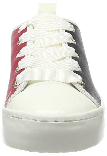Tommy Hilfiger Damen J1285upiter 3a3 Sneaker Schwarz (rwb)