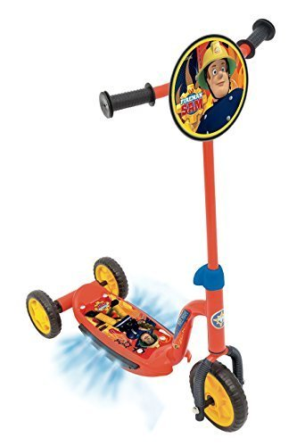 Image of Fireman Sam Rescue Light and Sound Scooter
