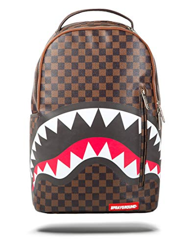 Sprayground - Shark in Paris Mini Rucksack Brown -