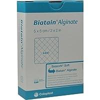BIATAIN Alginate Kompressen 5x5 cm 10 St preisvergleich bei billige-tabletten.eu