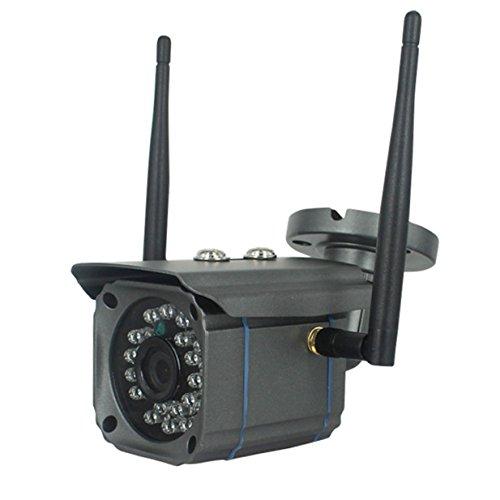 Preisvergleich Produktbild Wifi Kamera Nachtsicht - Sicherheitskamera ,  Dome Kamera Haiterung / IP Cam TüR Ueberwachungskamera Mit Monitor - Automatische Aufnahme 24 Stunden & HD drahtlose IP-Kamera