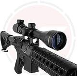 In Your Sights 3-9x40 Lunette de Visée avec Lumineux Réticule et Montages/Air Pistolet Lunettes - 3-9x40 avec 20mm montages
