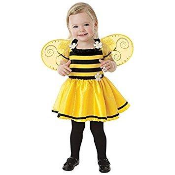 Bumble Bee Alter 1–2Mädchen Fancy Kleid Animal Insekten Buch Woche Kinder ()