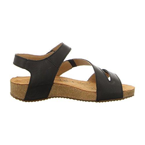 Josef Seibeltonga 25 - Sandales Noires Pour Femme