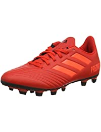 038a16a7d9d9 ADIDAS Predator 19.4 Flexible Ground Football Shoes (Multicolor/Red/Black ,D97970)