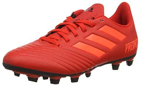adidas Predator 19.4 FxG, Herren Fußballschuhe, Rot (Active Red/Solar Red/Core Black), 45 1/3 EU