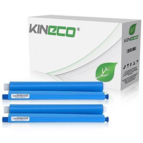 2 Thermorollen kompatibel zu Panasonic KX-FA52X für Panasonic KX-FC225, FC228, FC275, FP205, FP207, FP215, FP210 Series - Schwarz je 100 Seiten Panasonic Kx-serie