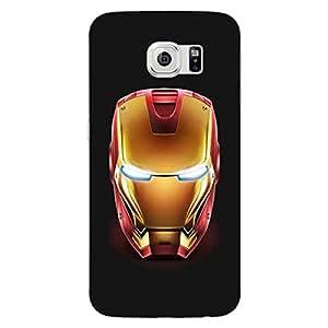 Jugaaduu Superheroes Ironman Back Cover Case For Samsung S6