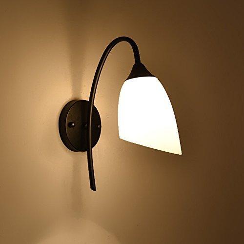 Schlafzimmer Wandleuchte Eisen Wohnzimmer Korridorleuchten Nachttisch Wandlampe (Swing-arm-lampe Tiffany)
