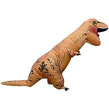 Inflable Dinosaurio T-Rex Disfraz Partido Traje Halloween Disfraz Adulto