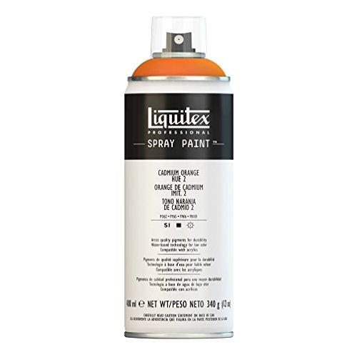 Liquitex Professional - Acrílico en spray, 400ml, naranja de cadmio (imit.) 2