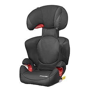 Maxi-Cosi Rodi XP FIX Child Car Seat, ISOFIX Booster Car Seat, Lightweight, 3.5-12 Years, 15-36 kg, Night Black   15