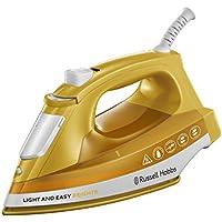 Russell Hobbs 24800-56 Dampfbügeleisen Light & Easy Mango, 2400 Watt, Keramik-Bügelsohle, automatischer Dampf, mango
