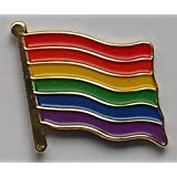 Bandiera pin badge arcobaleno